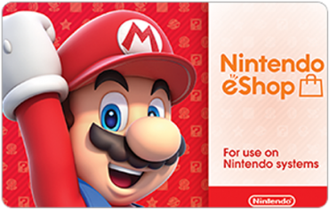 Nintendo eShop Digital Gift Cards
