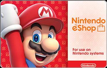 Nintendo eShop Digital Gift Cards